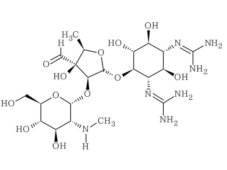ストレプトマイシンの化学構造式